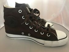 Converse All Star Roll Hi Brown Shoes Used
