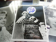 Shirley Temple CHRISTMAS signed FULL MOON as dozing SANTA on ROOF auto AUTOGRAPH