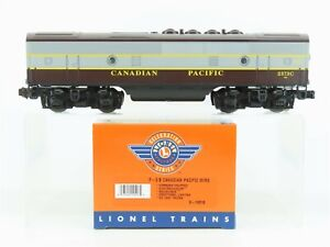 O Gauge 3-Rail Lionel 6-14518 CP Railway F3B Diesel Dummy #2373C w/ TMCC & Sound