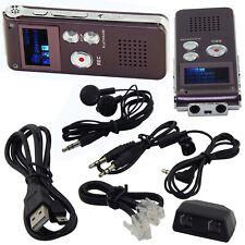 Mini Spy 8GB Digital Sound Audio Recorder Voice Activated Dictaphone MP3 Player