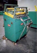 New listing 30″ x .065 Rowe Straightener .020-.065 Thickness Capacity 7 Roll Straightener En