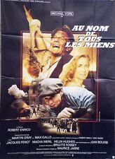 """""""AU NOM DE TOUS LES MIENS"""" Affiche originale (Robert ENRICO / Michael YORK)"""