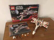 Star Wars Lego 6212: X-Wing Fighter 100% completado y en caja