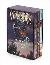 Warriors: Power of Three Set Vols. 1-3 by Erin Hunter (2009, Paperback)