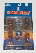 CORINTHIANS HEADLINERS NBA BASKETBALL FIGURES 4 PACK NEW Malone Rodman Barkley