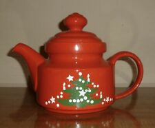 WAECHTERSBACH *CHRISTMAS TREE*.WEST GERMANY - 5 CUP TEAPOT & LID - DISCONTINUED
