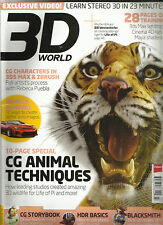 3D WORLDMAGAZINE,   JULY, 2013  NO. 170   ( SORRY FREE EXCLUSIVE VIDEO MISSING )