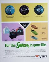 Lot of 3 Vintage AMF and Voit Bowling Print Ads For the Swingers in Your Life