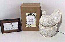 Pottery Barn Thanksgiving Figural Turkey Salt And Pepper Shaker Set New - Nwt