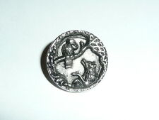 """Beautiful HP Duck Antique Reproduction Metal Shank Button 3//4/"""" Limited Supply"""