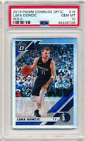 2019 Panini Donruss Optic #16 Luka Doncic Holo PSA 10 Gem Mint