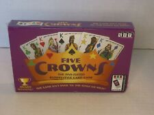 Set Enterprises Five Crowns Five Suited Rummy Style Card Game