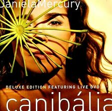 NEW DVD / CD COMBO //  DANIELA MERCURY - CANIBALIA - DELUXE EDITION w/LIVE DVD