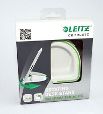 Leitz Rotating Desk Stand for iPad & tablet PC White and Green PC 62700001