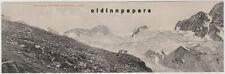 Greizer Hütte Floitenkees und Löffler Panoramakarte Zillertal ungefalzt um 1910