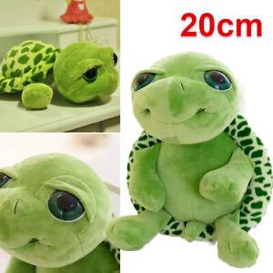 20cm Turtle Toy Dolls Stuffed Turtle Soft Plush Animal Big Eyes for Kids