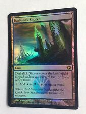 Mtg Magic the Gathering Scars of Mirrodin Darkslick Shores FOIL