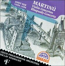 NEW Czech Po & Neumann & Suk - Martinu-violin Concertos (CD), New Music