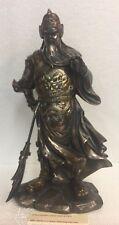 Fighting Warrior Guan Gong Guan Yu Yunchang Chinese Han Dynasty Figurine Statue