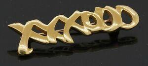 """Tiffany & Co. 18K yellow gold Paloma Picasso """"XXOOO"""" brooch"""
