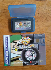NINTENDO GAME BOY ADVANCE - ANIMANIACS LIGHTS CAMERA ACTION GAME - FREE UK P&P