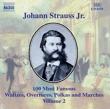 J. Strauss Jr.: 100 most famous works vol. 2/CD-come nuovo