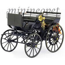 NOREV 183700 1886 DAIMLER MOTORKUTSCHE 1/18 MODEL CAR BLACK