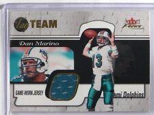2001 Fleer Focus Tag Team Dan Marino jersey #TTDM *35898