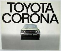 1975 Toyota Corona Sales Brochure