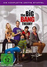 THE BIG BANG THEORY, Staffel 3 (3 DVDs) NEU+OVP