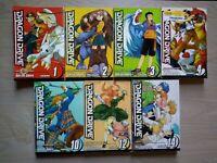 Dragon Drive 1-4, 10, 12, 14 Lot of 7 Shonen Manga, English, All Ages, Sakura