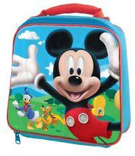Enfants Personnage École Garçons Filles Isolé Essuyer Nettoyer déjeuner Sac Boîte Disney