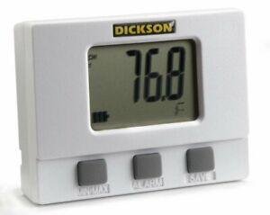 Dickson TM320 Datalogger Large Display Temperature And Humidity