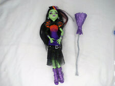 Monster High Doll Casta Fierce Witch With Outfit & Jewelry, Broom MH26