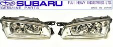 SUBARU GENUINE 98-00 GC8 Impreza WRX STI Front Lamp Headlight Set