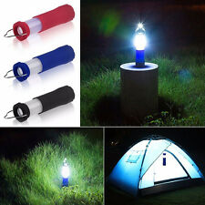 Outdoor Tent Camping Lantern Light Lamp Hiking Led Flashlight Torch Easy to- Use
