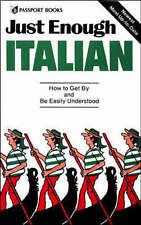 Just Enough Italian: How to get by and be easily understood-ExLibrary