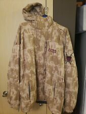 686 Snowboard Jacket Ace Artist Collaboration Sward Brown Camo Fighter