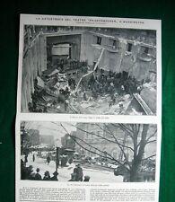 Nel 1922 Washington catastrofe Teatro Knickerbocker + San Francisco Nave Libia