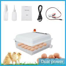 Hatching Egg Incubator 36 Eggs Digital Mini Automatic Incubators Double