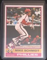 MIKE SCHMIDT 1976 TOPPS VINTAGE BASEBALL CARD #480 - PHILLIES