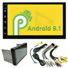 """7"""" Inch 2 DIN Car Stereo Radio HD MP5 USB FM Player Touch Screen Android 9.1"""