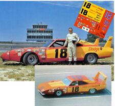 CD_895 #18 Joe Frasson  1970 Dodge Charger Daytona   1:24 Scale Decals