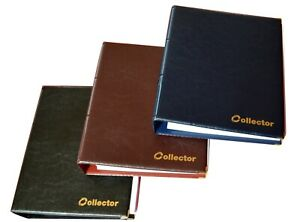 Collector HOLDER COIN ALBUM FOR 120 COINS IN COIN Self Adhesive Coin Holders