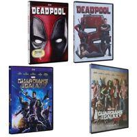 Marvel lot DVDs Guardians of the Galaxy 1 2 Deadpool 12Bundle Set new US seller