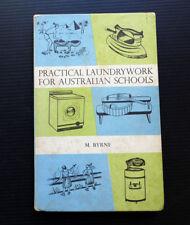 Practical Laundrywork 1965 book vintage washing machine copper wringer dryer old