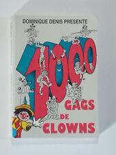 livre gags de clows dominique denis pour numéro comique