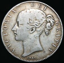 More details for 1845 | victoria crown | silver | coins | km coins