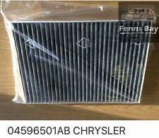 Chrysler 300c Pollen Cabin Filter 2005-2010 All Diesel And Petrol