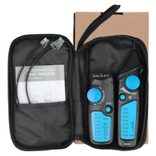Network Ethernet Cable Lan Tester Tracker Phone Rj45 Rj11 Wire Cable Detector -